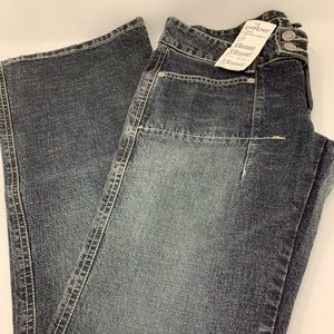 BEBE JEANS SEAMED FLARE  SIZE 28
